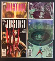 Justice #5,6,11 & 12 Signed SS DC Comics Combine Shipping