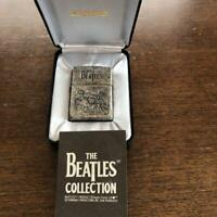 Used Zippo THE BEATLES COLLECTION Limited Mirror Plating Japan Super Cool Rare