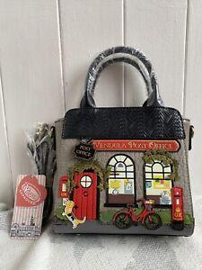 Vendula London Post Office Mini Tote Handbag Bag