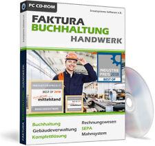 Handwerker Rechnungsprogramm + Buchhaltungssoftware,Rechnung und Buchhaltung EDV