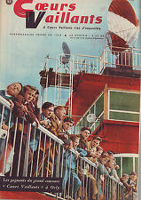 coeurs vaillants 5/06/1960  bon etat complet