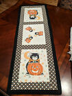 KITTY+CORN+Table+Runner+KIT+-+Fusible+Backed+Kitty+Appliques+%2B+Fabric+%2B+Pattern