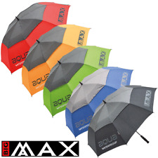 "BIG MAX AQUA WATERPROOF 60"" DUAL CANOPY AUTOMATIC OPEN GOLF UMBRELLA"