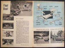 Inner tube FLOAT/BOAT/RAFT Fishing Swimming How-To build PLANS