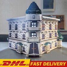 Creator Expert DIAGON Alley GRINGROTTS Bank Compatible With Building Block Set!!