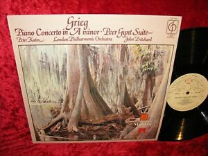 1971 UK EXC+ TO NM CFP 169 STEREO GRIEG PIANO CONCERTO, PEER GYNT SUITE PETER KA