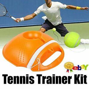 Single Self-Study Tennis Trainer Set Practice Training Base Tool Rebound Ball
