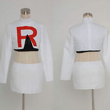 Pokemon Team Rocket Jessie Cosplay Costume*Custom Made*