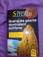 Zecharia Sitchin quand les géants dominaient la terre 2010 Gruppo Edit. Macro