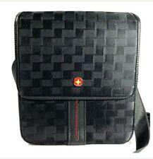 OVER + LAND bag black crossbody adjustable shoulder organizer travel man bag