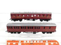 CO829-0,5# 2x Triang H0/DC Personenwagen/Speisewagen: 53171 + M2001, gebraucht