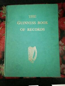 The Guinness Book Of Records 1955 In Very Good Condition.back Has slight stain