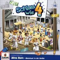 SCHLAU WIE VIER - 018/ALTES ROM.ABENTEUER IN DER ANTIKE   CD NEU