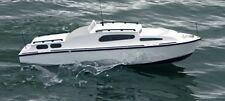 Aerokits Sea Commander 34in Cabin Cruiser with Fittings Set (C2001) Model Kit
