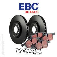 EBC Rear Brake Kit Discs & Pads for BMW 116 1 Series 2.0 (E81) 2008-2010