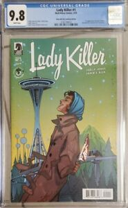 LADY KILLER 1 CGC 9.8 Emerald City ECCC 2015 Variant Limited To 500