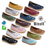 Womens Leather Oxfords Comfort Casual Hollow Flat Driving Shoes Loafers Moccasin