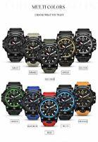 SMAEL Military Watch 50M Waterproof Wristwatch Led Quartz Clock Sport Watch