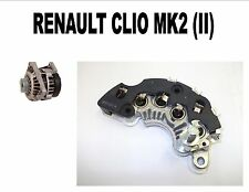 RENAULT CLIO MK2 (II) 1.2 HATCHBACK 1998 - 15 NEW ALTERNATOR RECTIFIER
