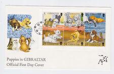 gibraltar 1996 Sc 702 dog,sheet on FDC      l1217