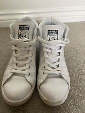 Adidas Stan Smith High Top Ankle Boot Trainers - Size UK 7