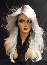 New Fashion Charm Elegant Women's Long Ombre Top Full Wigs Hair