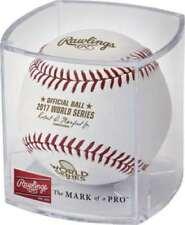 Rawlings 2017 World Series MLB Official Game Baseball - w/ Rawlings Factory Cube