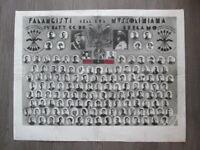 Foto su cartoncino  falangisti dell'era Mussoliniana