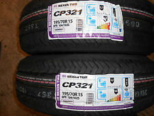 2x 195/70 15C 104/102S NEXEN CT8 1957015C GREAT WET GRIP QUALITY NEW VAN TYRES