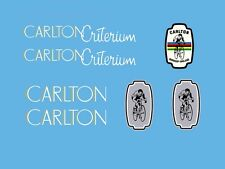 Carlton Criterium Bicycle Decals, Transfers, Stickers n.7