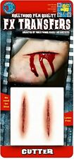 Tinsley Transfers Cutter Wound Prosthetic Special Effects Makeup Horror FX