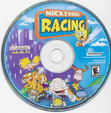NICKTOONS RACING Classic Kid's PC Game Nickelodeon Spongebob NEW CDRom FREE S&H