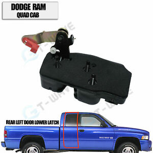 Rear Left Door Lower Latch fits Dodge Ram 1500 2500 3500 Quad Cab 1998-2002