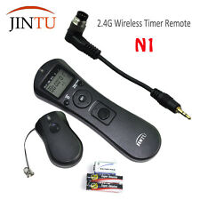 JINTU Wireless Timer Remote Cord N1 For Nikon D800 D700 D300 D300S D1 D1x D2x D1