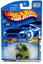 2001 Hot Wheels #29 First Edition Hyper Mite with blue checkers