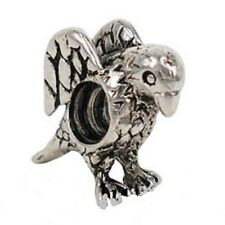 SILVER PLATED EAGLE SPACER BEAD CHARM ** SEE MY STORE FOR BRACELETS