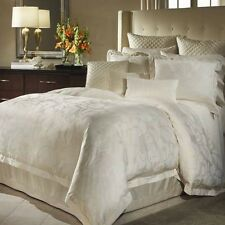 CHARISMA ROCHELLE  Ivory QUEEN DUVET & 2 matching Standard shams! Brand New 3pc