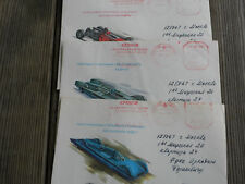 Three Russian Auto Racing Covers addressed