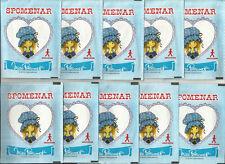 1984 Miss Petticoat 10 Pakete Panini wie Aufkleber