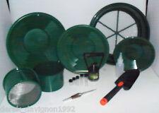International Green Mini / Large Gold Classifier Screen & Gold Pan Panning Kit