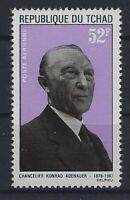 v5203 Tschad/ Adenauer   MiNr 197 **