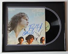 THE DOORS Group Signed 13 Record Album MATTED FRAMED DISPLAY by 3 Jim Morrison