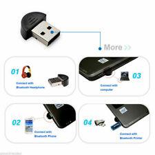 1X USB Mini EDR Bluetooth Adapter Wireless Dongle for Laptop PC Win Xp Win7 8-US