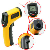 -50~380℃ LCD IR Thermometer Laser Digital Meter Infrarot Berührungslos