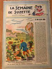 LA SEMAINE DE SUZETTE N°2 du 08/01/1948 - LE ROI D'UN JOUR ca107