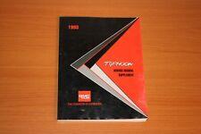 1993 Gmc Typhoon Service Manual Supplement X-9376