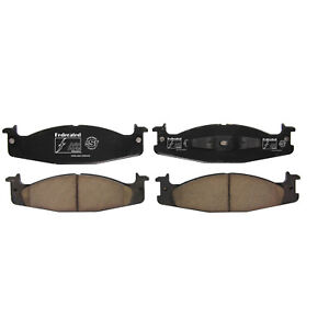 Disc Brake Pad Set-SST Front Federated D632C
