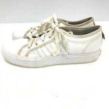 white nizza trainers junior
