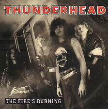 "THUNDERHEAD ‎– The Fire's Burning (1989 HARDROCK VINYL SINGLE 7"" GERMANY)"
