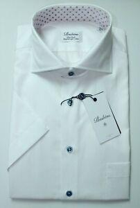 Stenströms Qualitäts Kurzarm Hemd Größe 42 (L)